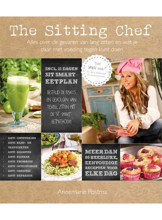 Boek: The Sitting Chef